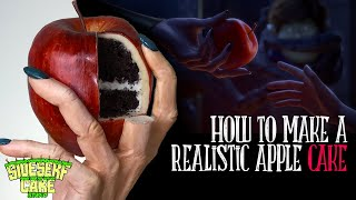 HOW TO MAKE A REALISTIC APPLE CAKE | Red Shoes And The Seven Dwarfs