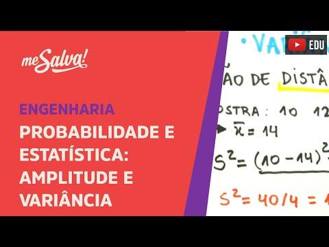 Me Salva! INEST05 - Amplitude e Variância - Probabilidade e Estatística