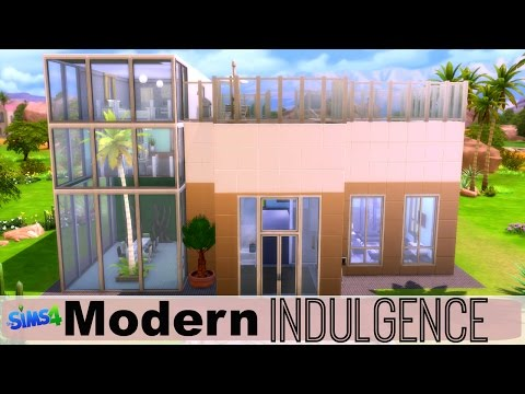 The Sims 4 : Speed Build & House Tour - Modern Indulgence