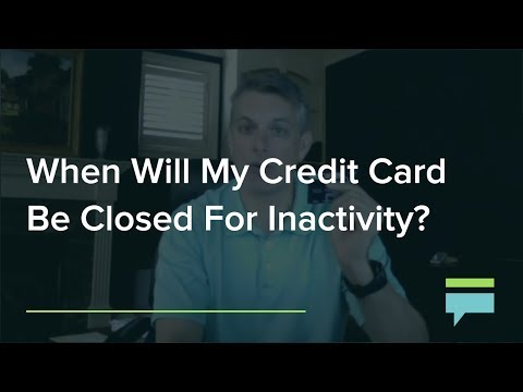When Will My Credit Card Be Closed For Inactivity? – Credit Card Insider