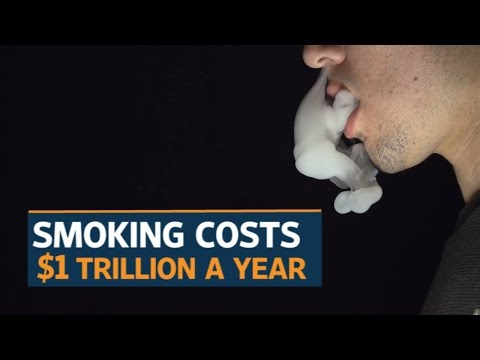 Smoking costs $1 trillion a year: WHO study