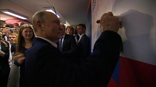 Putin Wins Six More Years As Russian President