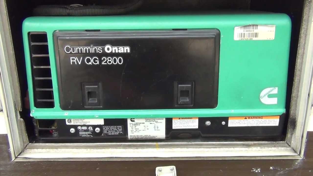 Generator Wiring Diagram Failed Cold Start Onan 2800 Microlite 2 8 Kw Youtube