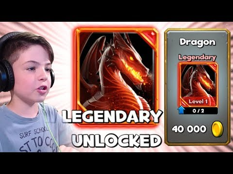 NEW LEGENDARY DRAGON IN SHOP - Castle Crush