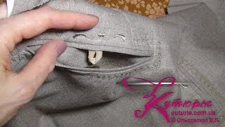 Как шить брюки: карман ЗП «рамка» для «классики»(Ещё один видео мастер-класс по шитью брюк снят по просьбам участниц моих групп. В ролике Вы увидите пошагов..., 2014-05-14T15:53:20.000Z)