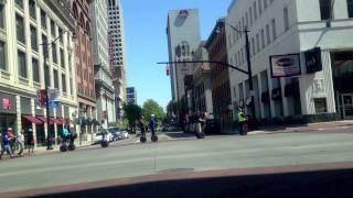 オハイオ州コロンバス市内 セグウェイツアー Segway (2012/04)