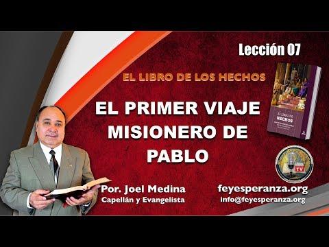 Leccion 07, El primer viaje misionero de Pablo, Escuela Sabatica