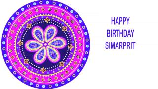 Simarprit   Indian Designs - Happy Birthday