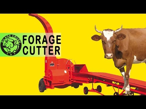 30 t/h Forage Cutter/Silage Chopper/animal feed shredder for