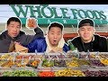 THE BEST FOOD FROM THE WHOLE FOODS HOT BAR // Fung Bros