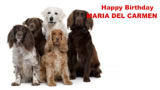 MariadelCarmen   Dogs Perros - Happy Birthday