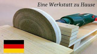 Wie Man kann Tellerschleifmaschine selber bauen für Holz schleifen