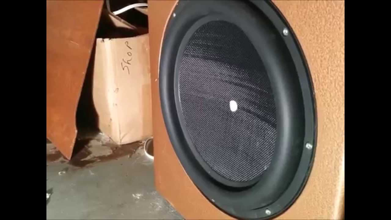 Dayton Audio 15 Ultimax Subwoofer Build The Copper Box