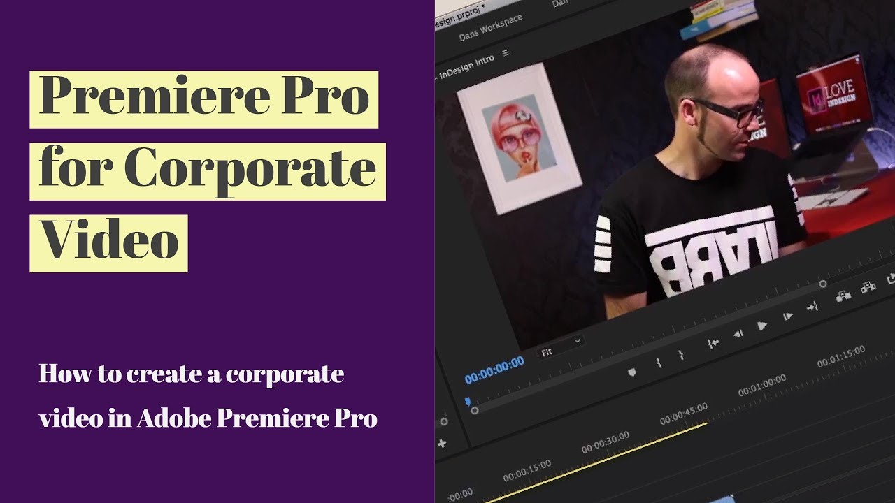How To Create A Corporate Video In Adobe Premiere Pro Premiere Pro For Corporate Video 3 13 Youtube