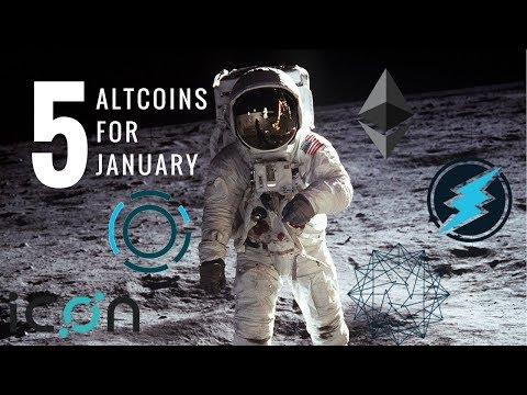 Top 5 Altcoins for January 2018