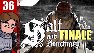 Let's Play Salt and Sanctuary Part 36 FINALE - The Nameless God Boss Fight