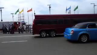 Лимузины от Pulmann на день города Владивостока