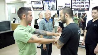 Difficult movement of Wing Chun -  Internal Wing Chun Hong Kong
