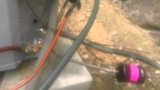 HVAC Install: Condenser Change Out, Dry Prong, LA
