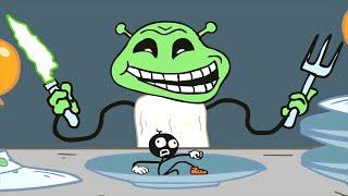 Stickman School Escape! - Full Gameplay Walkthrough - Fun Trolling Games