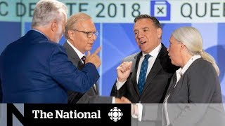 Immigration issue fuels heated Quebec election campaign