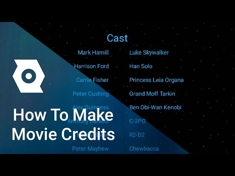 Make Your Own Movie Credits With PixelLab and Kinemaster
