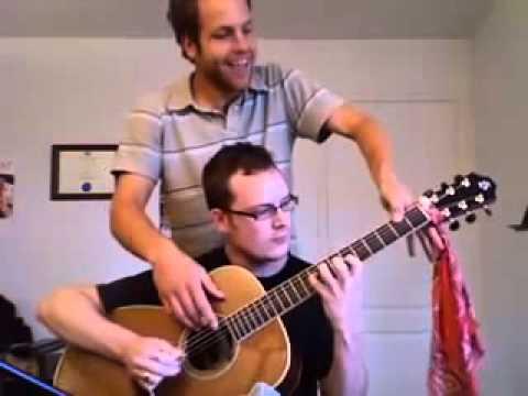 Игра на гитаре в четыре руки
