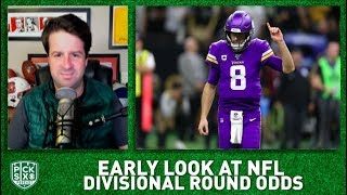 NFL Divisional Round Picks, Early Look at Lines, Betting Advice I Pick Six NFL Podcast