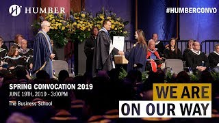 Humber Spring 2019 Convocation - The Business School
