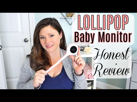 LOLLIPOP BABY MONITOR REVIEW 2019 | VIDEO WIFI BABY MONITOR
