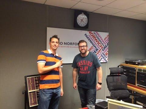 Norwich Boxing on BBC Radio Norfolk