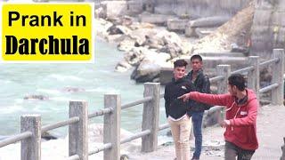 Nepali Prank - आम्मा खोलामा त पानी रैछ || DARCHULA || Prank Tour Nepal S2