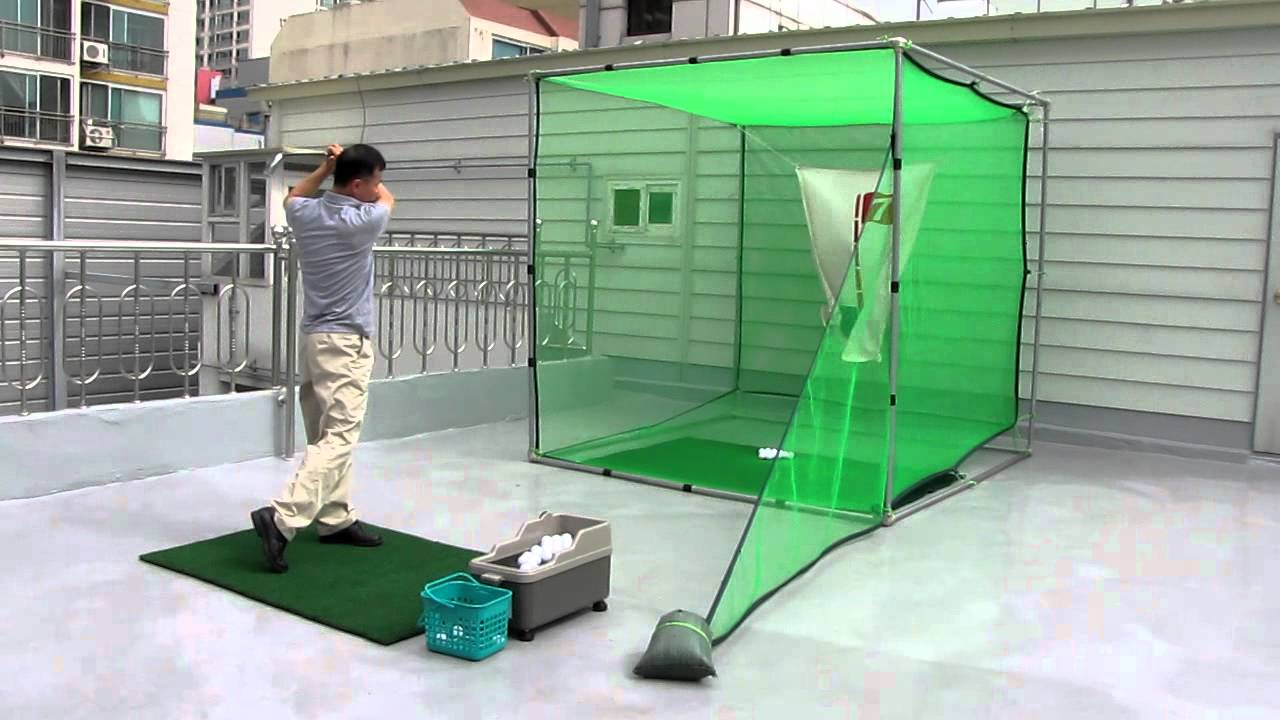 ematgolf nice shot golf swing practice net youtube