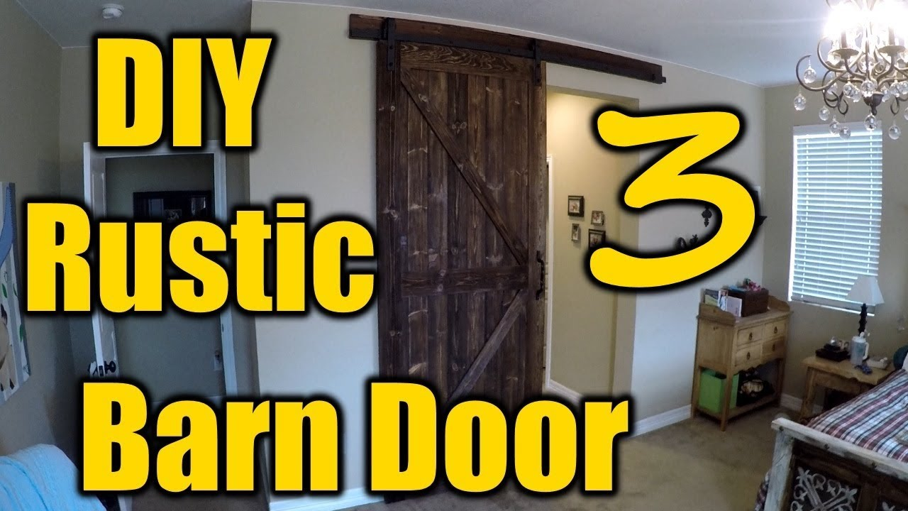 How To Build A Rustic Barn Door 3 | THE HANDYMAN | & How To Build A Rustic Barn Door 3 | THE HANDYMAN | - YouTube