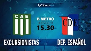 Excursionistas vs Dep.Espanol full match