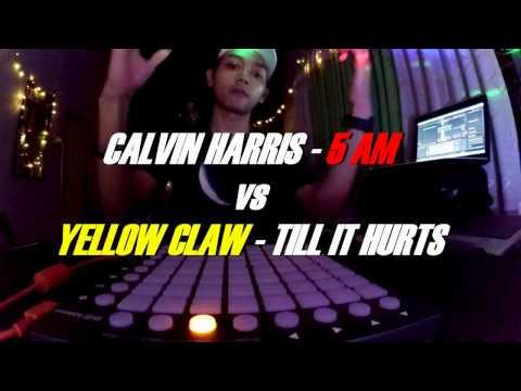 Calvin Harris - 5AM ft.tinashe vs Yellow Claw - Till It Hurts ft.Ayden [Launchpad mini Cover]