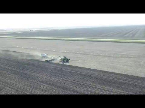 Seeding Time In Manitoba