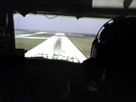 KC-135 Wake Island Landing