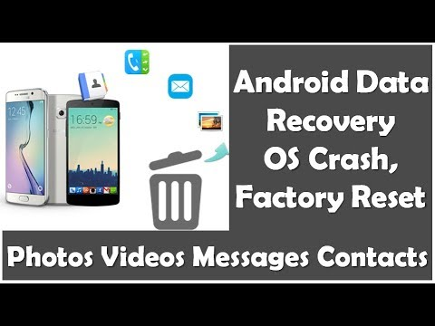 Android Photos, Videos Data Recovery After Factory/Hard Reset Or OS Crash