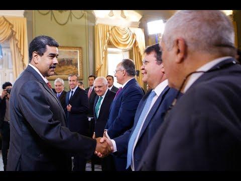 Reunión completa de Nicolás Maduro con la Asociación Bancaria de Venezuela