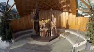 Nativity Scene Woodcarving Video