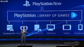 Playstation Now   Breaking News   Ces 2014