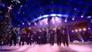 X Factor 2008 Final JLS and Westlife - Flying without Wings