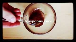 Bulletproof hot cocoa(chocolate), Keto, LCHF, Paleo - Recipe. Low carb. [Dieta ketogeniczna].