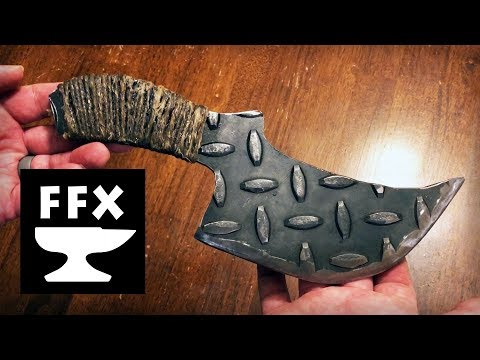 How to make a knife handle with a cord wrap and fiberglass resin (Angry Rhino Knife Part 2)