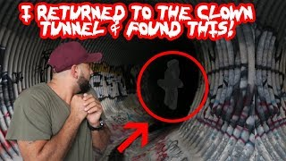 "I FOUND THIS AT THE REAL ""IT"" CLOWN TUNNEL AND THIS IS WHAT HAPPENED! 