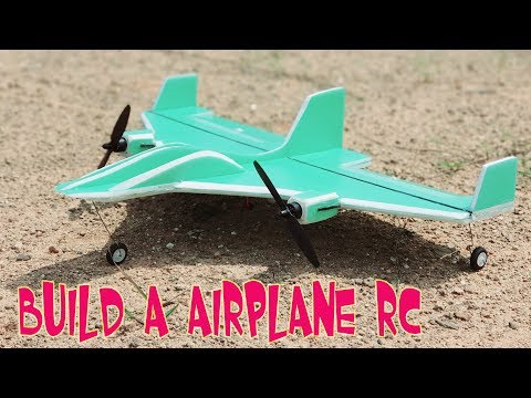 How to make RC AirPlane with Brushless Motor