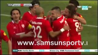 Giresunspor 0-3 Samsunspor | Sezer'in kafa golü !