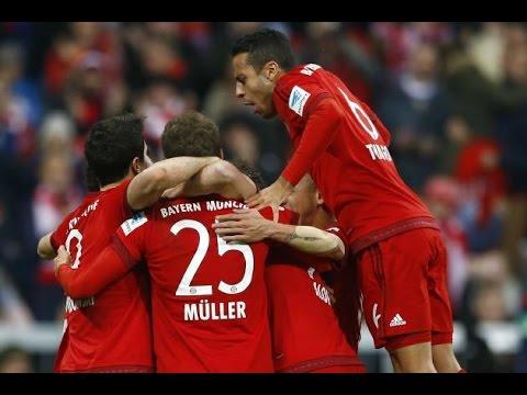 Bayern Munich vs Ingolstadt 2 0  All Goals  Highlights