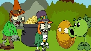 Plants vs zombies 2 ANIMATION luck of  the zombie (Parodia)